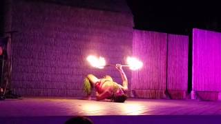 Island Breeze Fire Dancer, Kona Hawaiian Luau