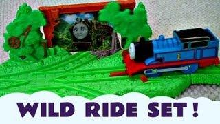 THOMAS' WILD RIDE Discovering HIRO Kids Toy Train Set Thomas The Tank Trackmaster Thomas The Tank