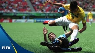 Uruguayans topple rivals Brazilians