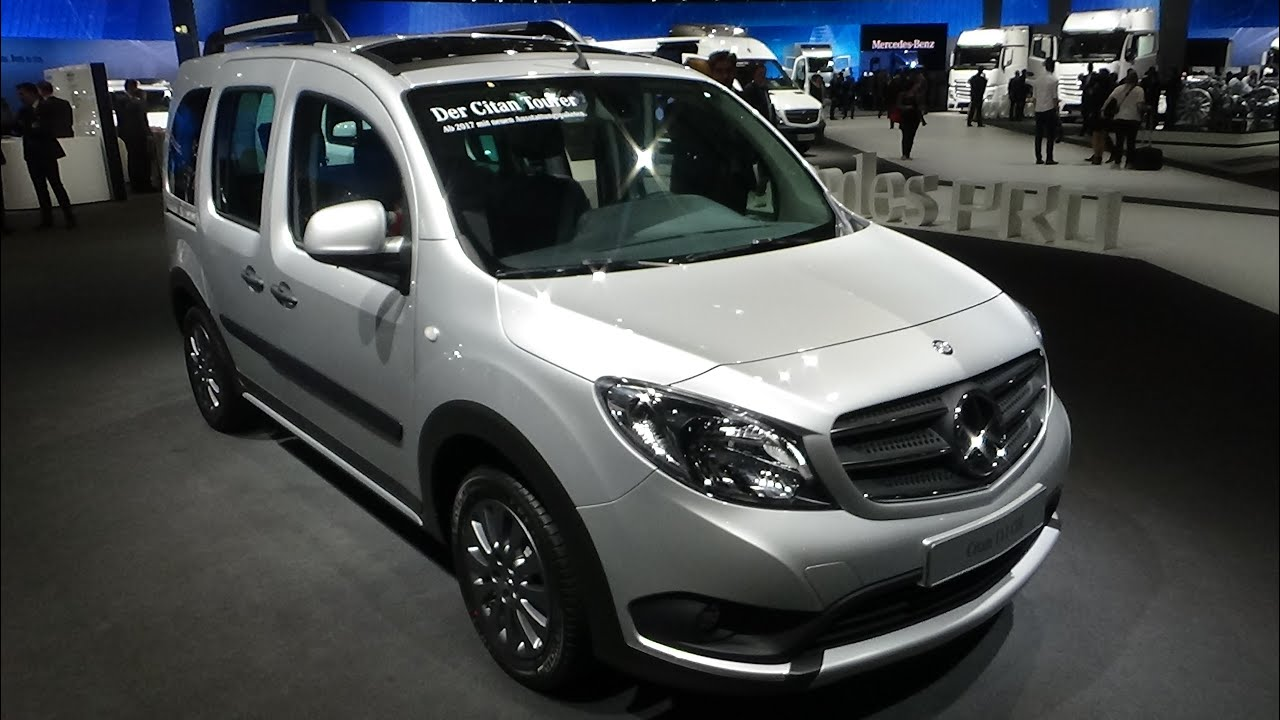 2017 mercedes benz citan 111 cdi exterior and interior. Black Bedroom Furniture Sets. Home Design Ideas
