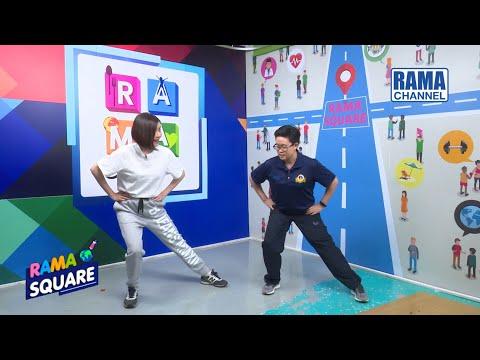 RAMA Square - 7 ท่าออกกำลังกายสร้างกล้ามเนื้อขา (1) 16/01/63 l RAMA CHANNEL