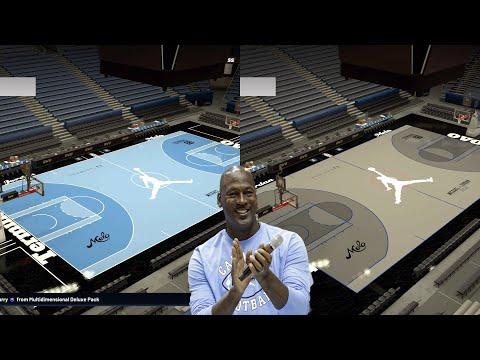 NBA2K20 HOW TO MAKE JORDAN TERMINAL 23 MYTEAM/MYLEAGUE COURT CREATION! EASY COURT TUTORIAL CUSTOMIZE