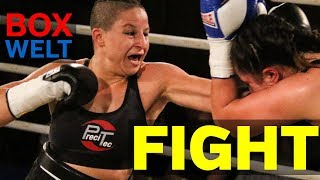 Beke Bas vs Monika Antonik - 6 rounds lightweight - 26.05.2018 - Brückentorsaal Rinteln