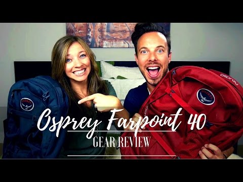 GEAR REVIEW: Osprey Farpoint 40