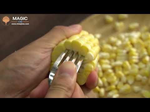 peeling-corn-|-best-life-hacks
