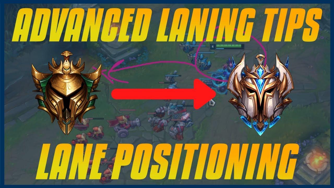 ADVANCED LANING TIPS : Lane Positioning + Faking CS + Mind Games + Dodging Patterns
