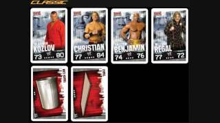 Wwe Sabritas Slam Attax (Mexico)