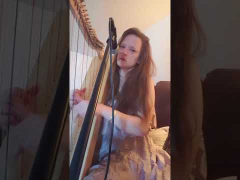 """"""" I will call the stars""""  an original  harp song by Cheri (Online Harp Course)"""