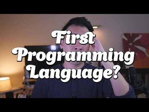What's your first programming language?
