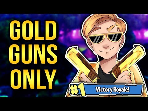NEW SOLID GOLD MODE! (LEGENDARY ITEMS ONLY!) | Fortnite: Battle Royale