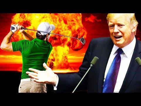 Trump Talks Nuclear War...And Golf