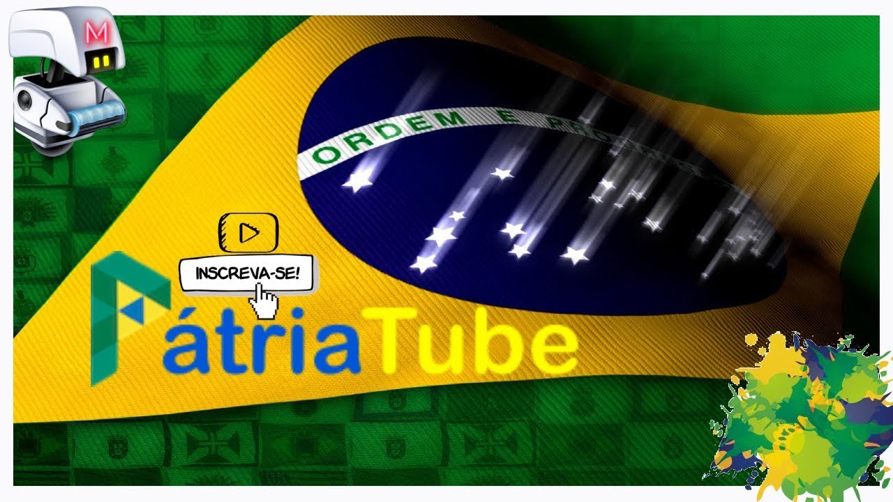 APRESENTAÇÃO PÁTRIA TUBE NOVA REDE SOCIAL DO BRASIL