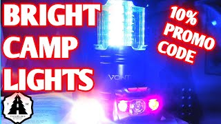 Vont Led Tactical Flashlight, Camping Lantern and Headlamp