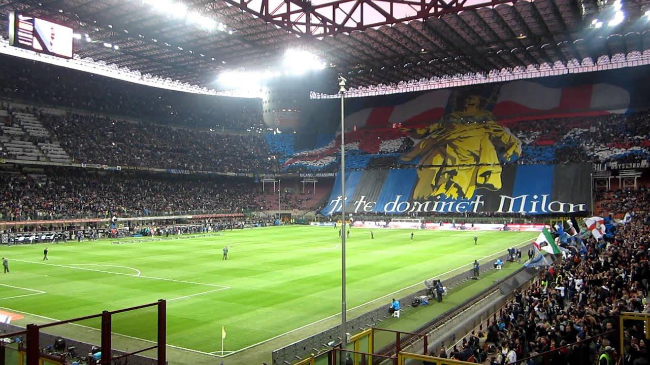 inter roma coppa italia 11-5-2011 curva nord milano 2 - YouTube
