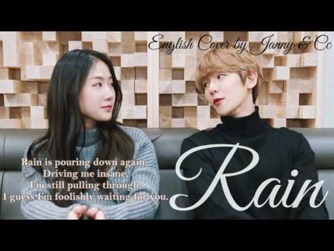 SOYOU X BAEKHYUN - RAIN (비가 와) | English Cover By JANNY & Cc