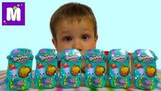 Шопкинс корзинки сюрпризы с игрушками распаковка Shopkins surprise toys unboxing