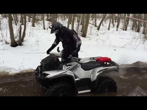 Жёстко Квадро Ледяное видео. ATV Club NorthWay. ATVs In Russia.