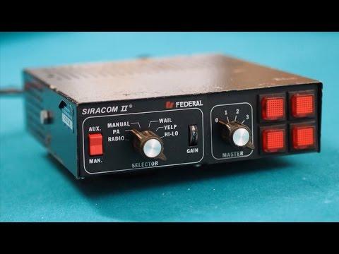 FEDERAL SIGNAL PA2100 SIRACOM II SIREN