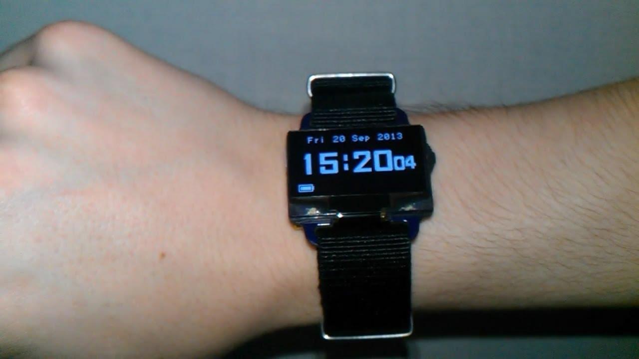 DIY Digital Wristwatch