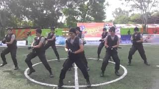 Gangnam style Satbrimob Polda Kepri gokil abiss