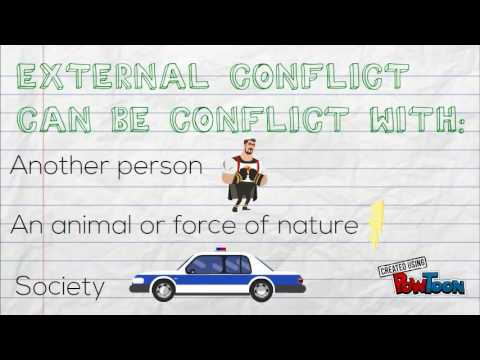 Internal and External Conflict - YouTube