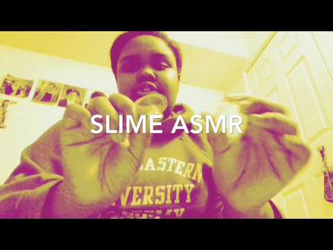 Slime ASMR (sorry for bad video quality)