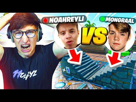 SFIDA EPICA 1vs1 FAZE MONGRAAL vs NOAHREYLI !! FORTNITE