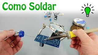Como Soldar Componentes Eletrônicos