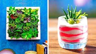 20 CREATIVE DECOR IDEAS WITH PLANTS