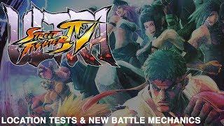 Ultra Street Fighter 4: Location Tests & New Battle Mechanics