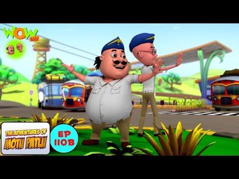 Traffic police - Motu Patlu in Hindi WITH ENGLISH, SPANISH & FRENCH SUBTITLES thumbnail