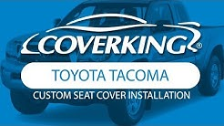 How to Install 2010-2015 Toyota Tacoma Custom Seat Covers | COVERKING®