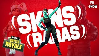 THE RAREST SKINS OF FORTNITE! | Daan Junioor