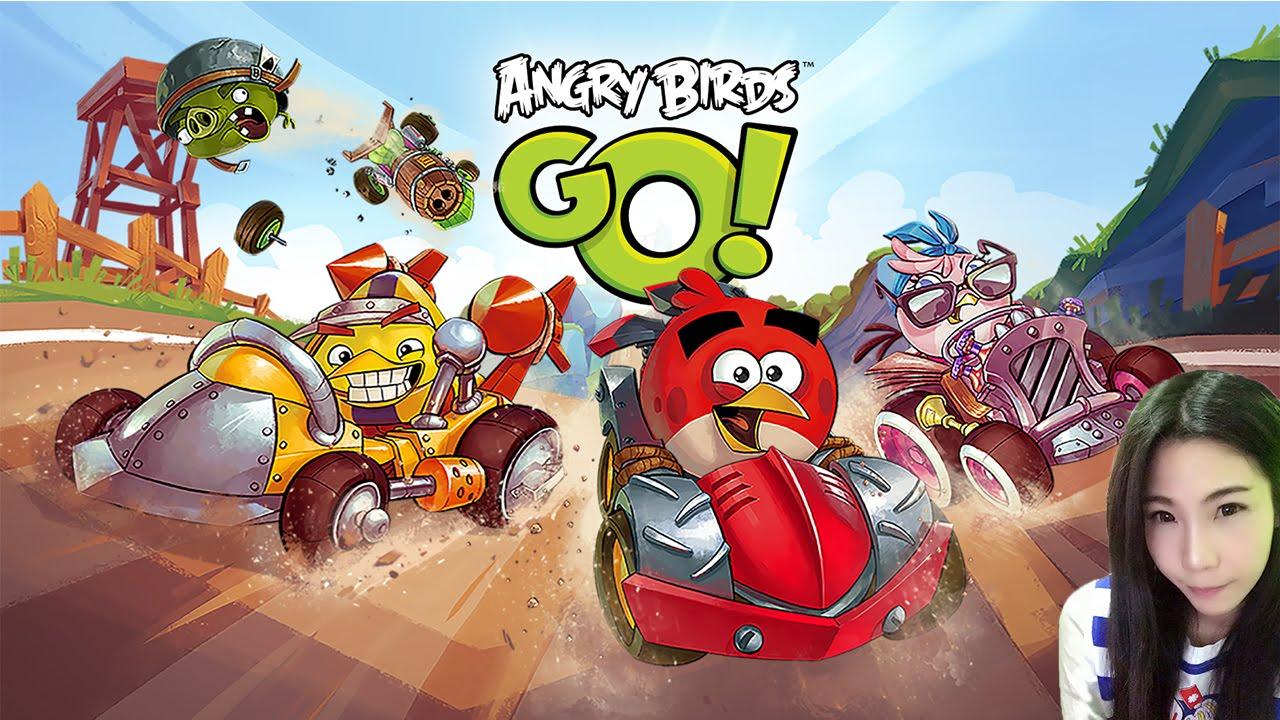 นกพิโรธ รถโคตรซิ่ง Angry Birds Go! เกมมือถือ [DevilMeiji]