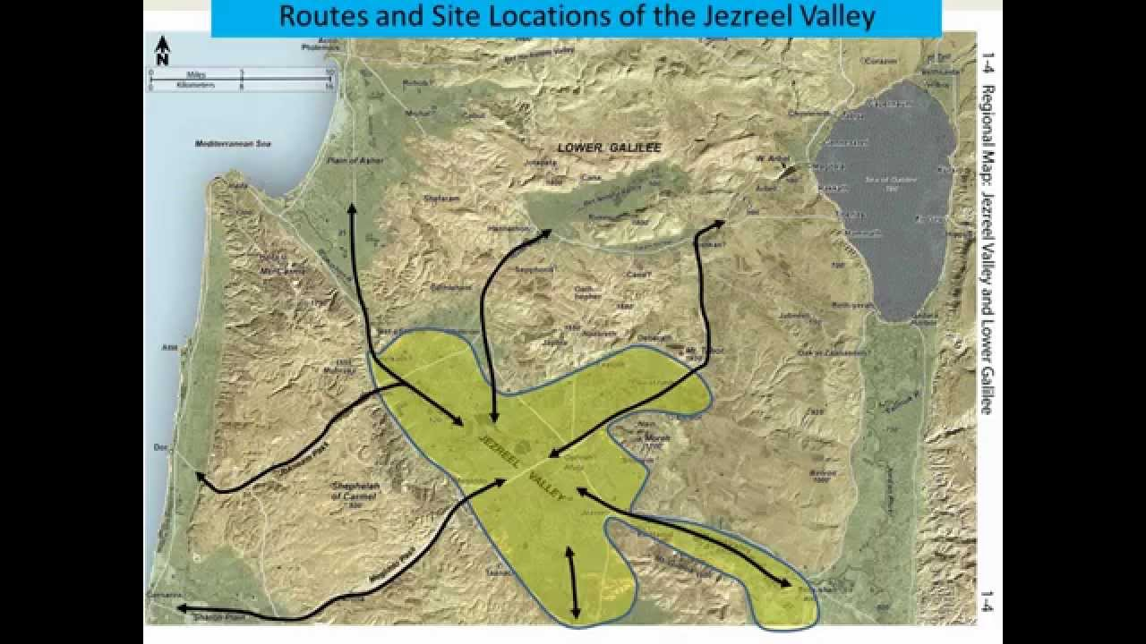 06 Satellite Bible Atlas Map 1 4 Jezreel Valley                                  YouTube 06 Satellite Bible Atlas Map 1 4 Jezreel Valley