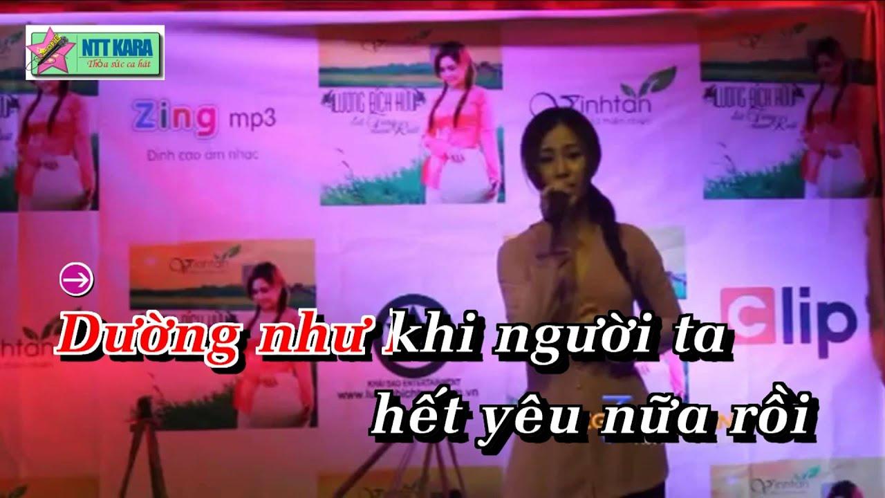 [Karaoke] Đứt Từng Đoạn Ruột – Lương Bích Hữu