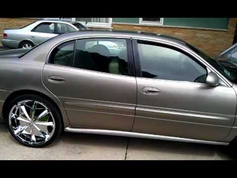 "2001 Buick LeSabre on 22"" Greed Envy's on skinnies , music , TV radio"