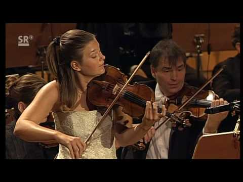 Janine Jansen performs Tchaikovsky Violin concerto 3. movement