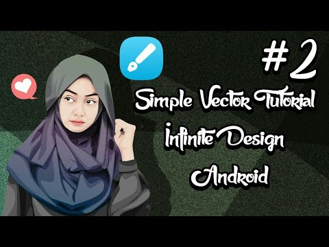 Simple Vector Tutorial (Mouth) Part 2 Infinite Design Android (only 8 minutes)