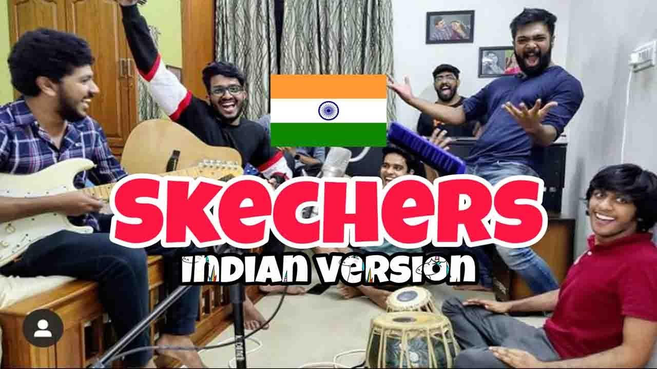 Skechers - Drip Report   Desi Twist   Kaala Chashma ( Indian Cover)