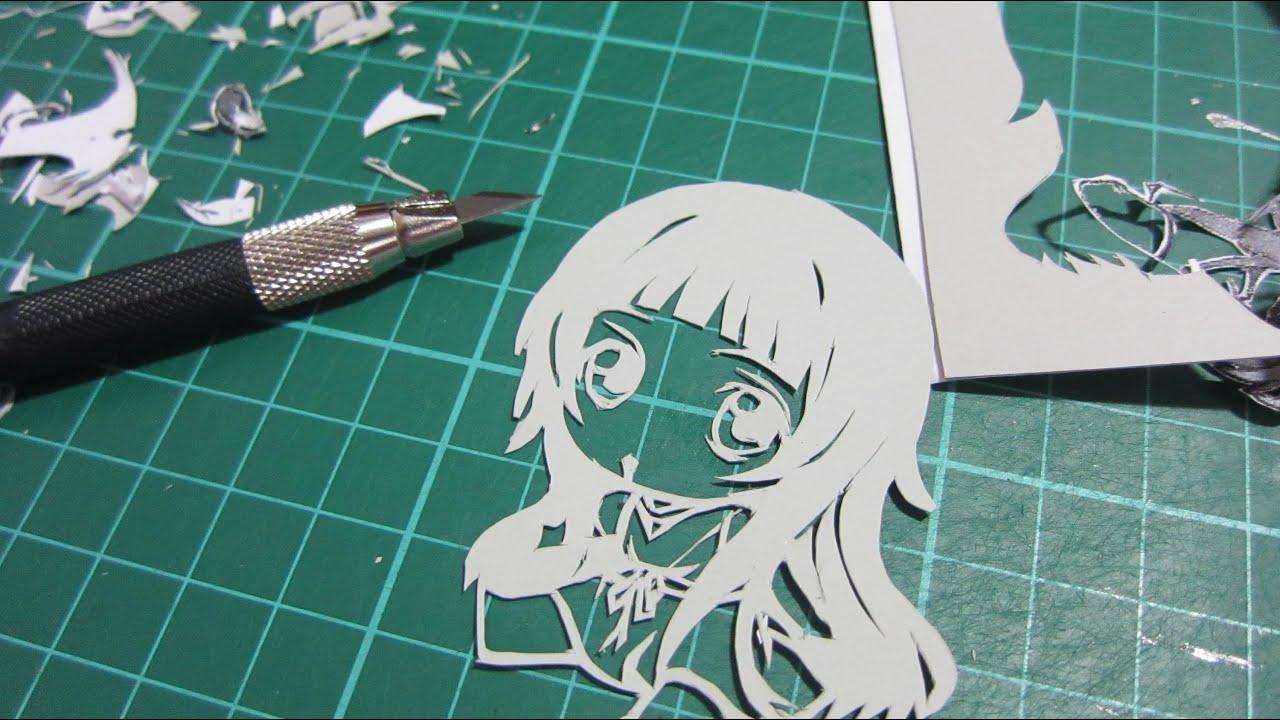 Papercraft Paper Cutting - Yui (Petanko Ver.)