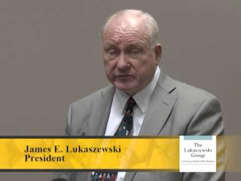 Jim Lukaszewski On Bad News