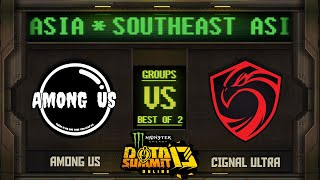 Among Us vs Cignal Game 2 - Monster Energy Dota Summit 13 Online SEA: Groups w/ MLP & johnxfire