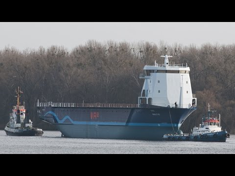 Launching Ship MV Baltic Gloabal Seatrader Ocean 7 Project R2
