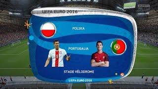Polska vs Portugalia 1/4 EURO 2016 MOD FIFA 16