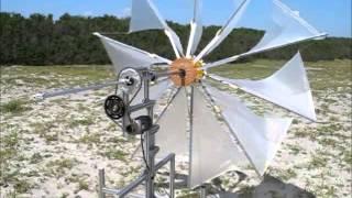 folding wind turbine(折り畳み式風力発電機のたたき台です)