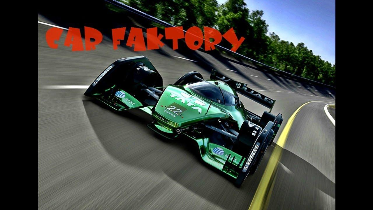Jaguar Xjr Concept Race Car Youtube