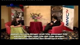 Fiona Callaghan interviewing Shah Rukh Khan - Exclusive Interview in Jakarta, Indonesia