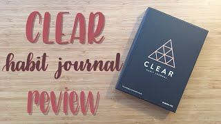Review | Clear Habit Journal | Baron Fig