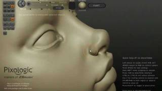 Sculptris - Female Head Part I